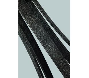 Angelo Lysekrone i stål, egetræ og glas Ø77 cm 6 x E27 - Antik egetræ/Antik gråsort
