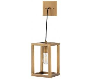 Ensemble Loftlampe i stål 17,8 x 17,8 cm 1 x E27 - Børstet bronze