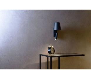Alwa væglampe 1 x 4W LED - Antracit