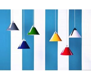 Diversity loftlampe Ø28 cm 1 x E27 - Rød/Hvid