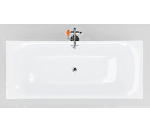 HAMMOCK fritstående badekar 200 x 85 cm Akryl - Hvid