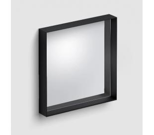LOOK AT ME vægspejl 50 x 50 cm - Mat sort