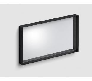 LOOK AT ME vægspejl 90 x 50 cm - Mat sort