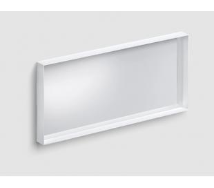 LOOK AT ME vægspejl 110 x 50 cm - Mat hvid