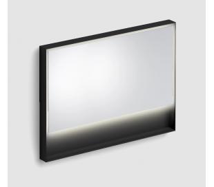 LOOK AT ME vægspejl med lys IP44 80 x 110 cm - Mat sort