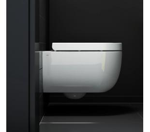 HAMMOCK Væghængt toilet D49 cm - Hvid højglans