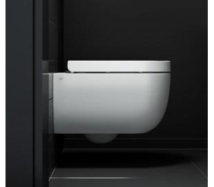 HAMMOCK Væghængt toilet D49 cm - Mat hvid