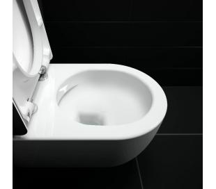 HAMMOCK Væghængt toilet D49 cm - Mat sort