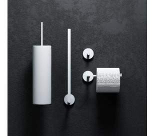FLAT Toiletrulleholder til 3 ruller H30,6 cm - Mat hvid
