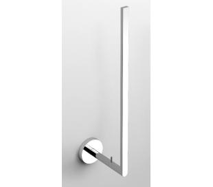 FLAT Toiletrulleholder til 3 ruller H30,6 cm - Krom