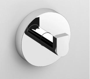 FLAT Kroge sæt af 2 Ø4,8 cm - Krom