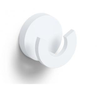 FLAT Dobbeltkrog Ø4,8 cm - Mat hvid