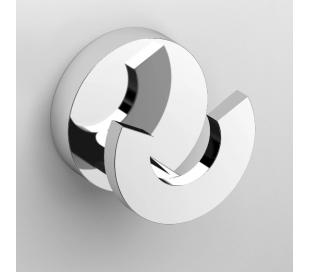 FLAT Dobbeltkrog Ø4,8 cm - Krom