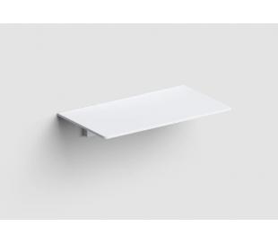 SJOKKER Væghylde 18 x 10 cm - Mat hvid