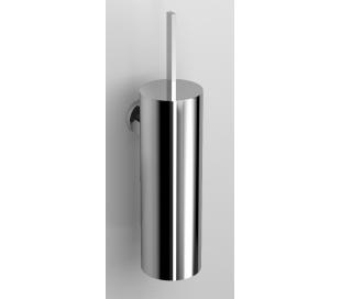 FLAT Væghængt toiletbørste H35 cm - Krom