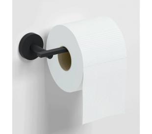 FLAT Toiletrulleholder B16,5 cm - Mat sort