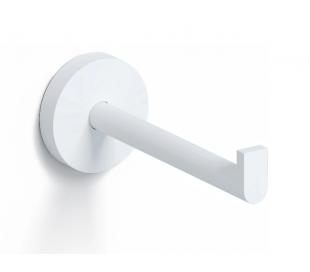 FLAT Toiletrulleholder D12,1 cm - Mat hvid