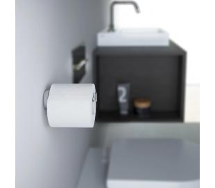 FLAT Toiletrulleholder D12,1 cm - Krom