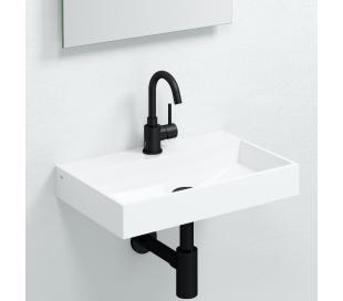 XO 1 Armatur drejbar til håndvask H21,1 cm - Mat sort
