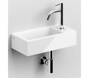 FLUSH 3 Håndvask 36 x 18 cm Keramik - Hvid højglans