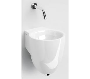 FLUSH 6 Håndvask 27 x 31,5 cm Keramik - Hvid højglans