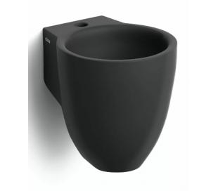 FLUSH 6 Håndvask 27 x 31,5 cm Keramik - Mat sort