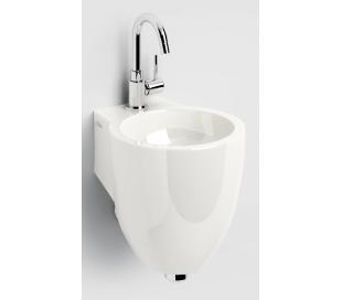 FLUSH 6 Håndvask 27 x 31,5 cm Mineral - Hvid højglans