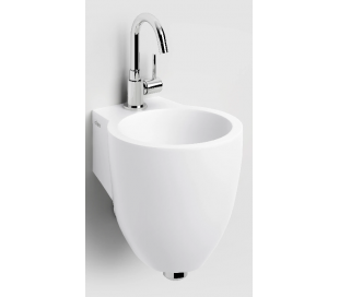 FLUSH 6 Håndvask 27 x 31,5 cm Aluite - Mat hvid