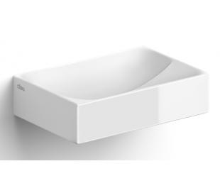 VALE Håndvask 28 x 19 cm Keramik - Hvid højglans