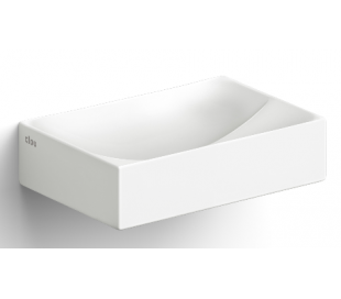 VALE Håndvask 28 x 19 cm Keramik - Mat hvid