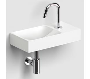 VALE Håndvask 38 x 19 cm Keramik - Mat hvid