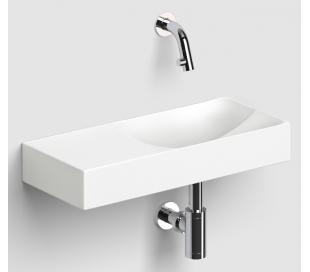 VALE Håndvask 45 x 19 cm Keramik - Mat hvid
