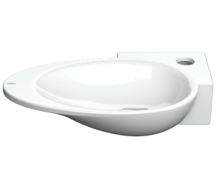 FIRST Håndvask 38,8 x 24,6 cm Keramik - Hvid højglans