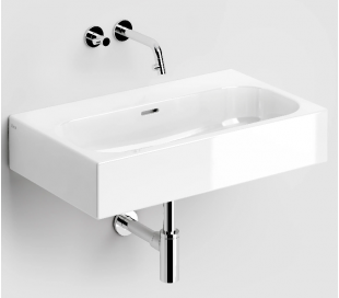 MATCH ME Håndvask 70 x 42 cm Keramik - Hvid højglans