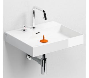 NEW WASH ME Håndvask 50 x 42 cm Keramik - Hvid højglans