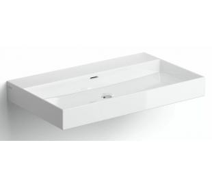 NEW WASH ME Håndvask 70 x 42 cm Keramik - Hvid højglans
