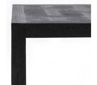 Colombe Sofabord i ask træ 55 x 55 cm - Sort