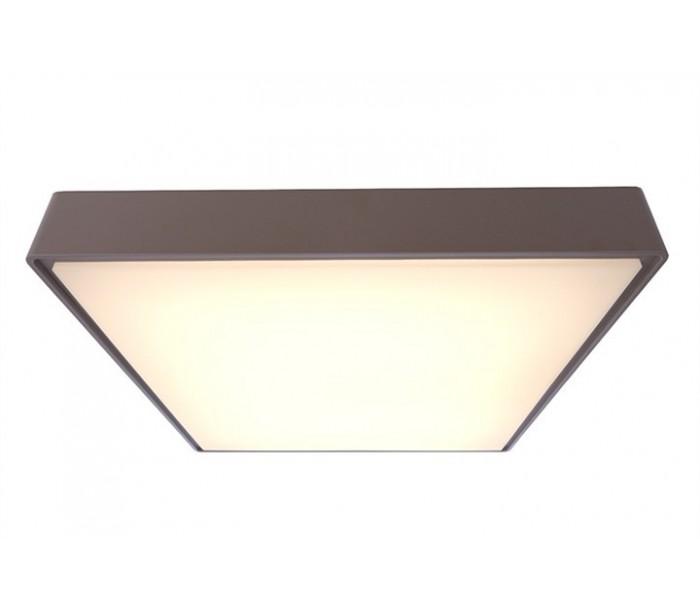selected by lepong Quadrata iii loftslampe 40 x 40 cm 20w led - grå fra lepong.dk