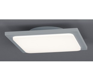 Trave loftslampe 25 x 25 cm 18W LED - Grå