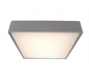 Quadrata II loftslampe 29,6 x 29,6 cm 16W LED - Grå