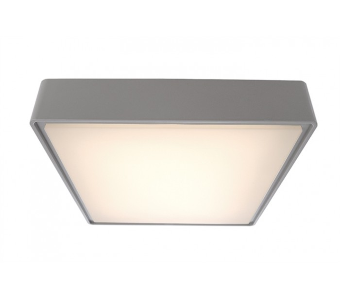 Image of   Quadrata II loftslampe 29,6 x 29,6 cm 16W LED - Grå