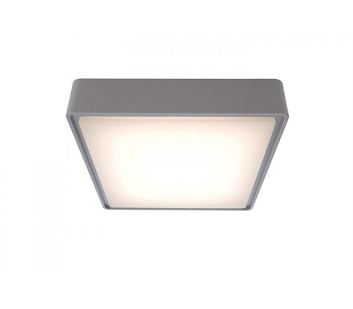Quadrata i loftslampe 22 x 22 cm 10w led - grå fra deko light fra lepong.dk