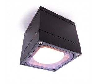 Mob Square II loftslampe 10,8 x 10,8 cm GX53 - Antracit