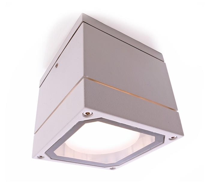 deko light Mob square ii loftslampe 10,8 x 10,8 cm gx53 - hvid på lepong.dk