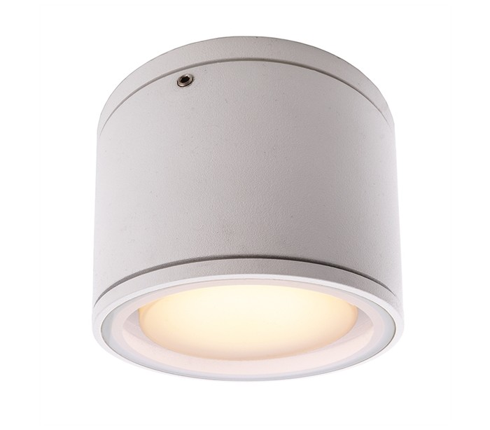 Image of   Mob Round I loftslampe Ø10,8 cm GX53 - Hvid