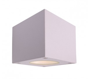 Cubodo W up-down væglampe 6W LED - Hvid