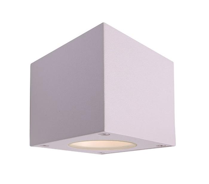 deko light – Cubodo w up-down væglampe 6w led - hvid fra lepong.dk