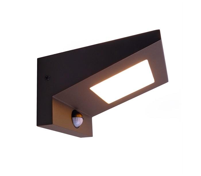 Ireatta væglampe med sensor 6w led - antracit fra deko light på lepong.dk