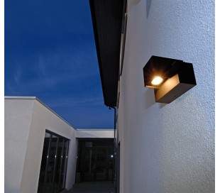 Mobby Wall væglampe 9W LED - Antracit
