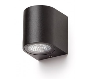 PIA up-down væglampe 2 x 3W LED - Antracit